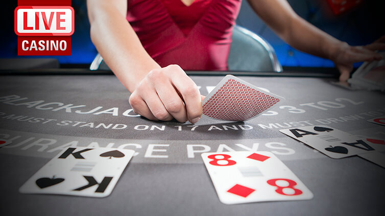 Plays Online Blackjack Using a Live Dealer